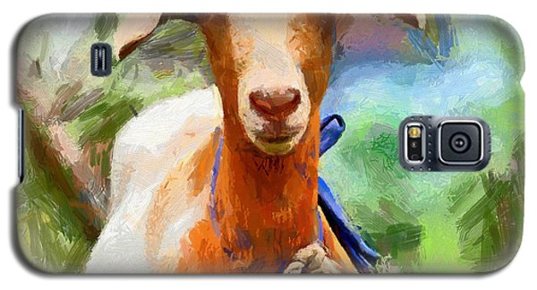 Just A Goat Galaxy S5 Case by Kai Saarto