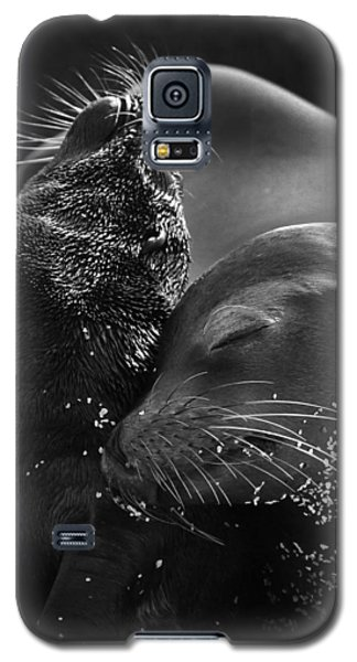 Galaxy S5 Case featuring the photograph Just A Little Lower Mom by Gary Hall