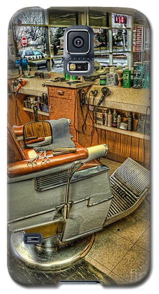 Just A Little Off The Top - Barber Shop Galaxy S5 Case by Lee Dos Santos