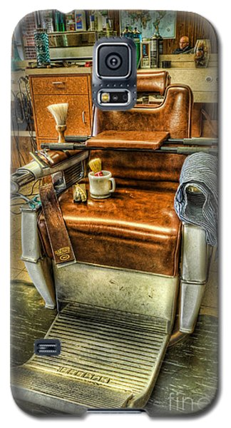Just A Little Off The Top II - Barber Shop Galaxy S5 Case by Lee Dos Santos