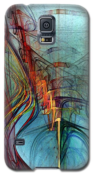 Just A Melody-abstract Art Galaxy S5 Case