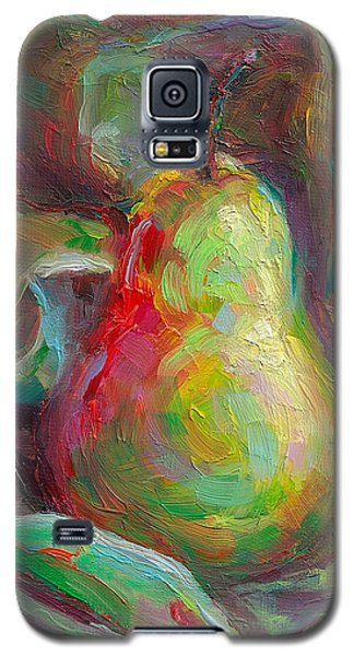 Just A Pear - Impressionist Still Life Galaxy S5 Case