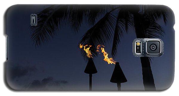 Just After Sunset The Beach Party Is Starting Galaxy S5 Case