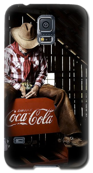 Just Another Coca-cola Cowboy 3 Galaxy S5 Case