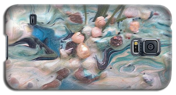 Galaxy S5 Case featuring the painting Just Beaching by Sherri  Of Palm Springs