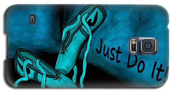 Just Do It - Blue Galaxy S5 Case
