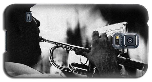 Trumpet Galaxy S5 Case - Just Follow My Lead by Rui Correia