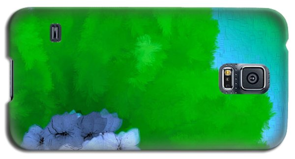 Just Give Me A Reason Blue Green Blue Galaxy S5 Case