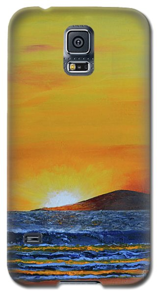 Just Left Maui Galaxy S5 Case by Suzette Kallen