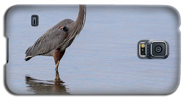 Galaxy S5 Case featuring the photograph Just Saying Howdy by John M Bailey