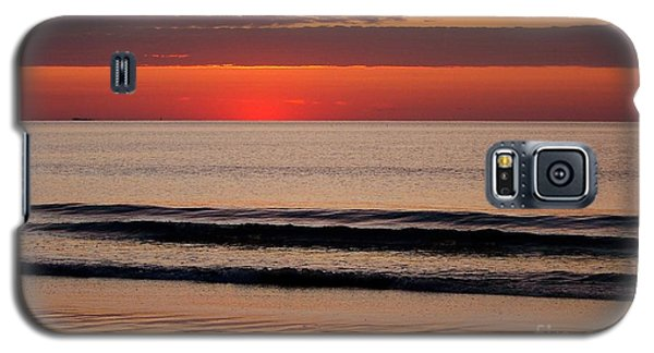 Just Showing Up Along Hampton Beach Galaxy S5 Case