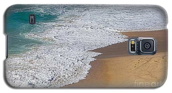 Just Waves And Sand By Kaye Menner Galaxy S5 Case