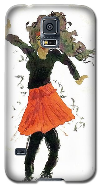 Just Zumba Galaxy S5 Case by Lesley Fletcher