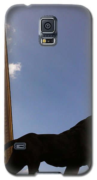 Galaxy S5 Case featuring the photograph Justice by Lucy D
