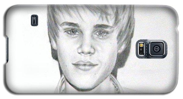 Justin Bieber Galaxy S5 Case by Lori Ippolito