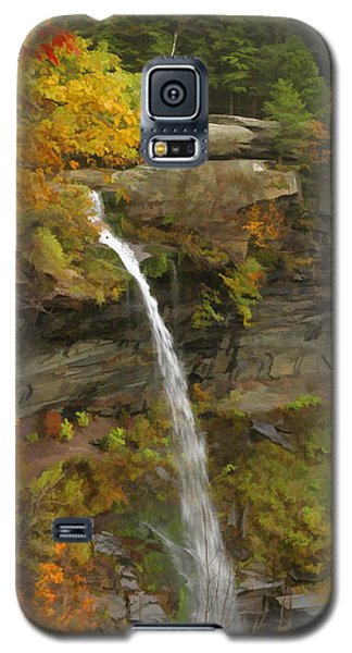 Galaxy S5 Case featuring the photograph Kaaterskill Falls by Gregory Scott