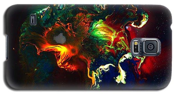 Kaboom - Bright Colorful Abstract Art By Kredart Galaxy S5 Case