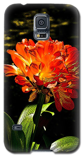 Kafir Lily Galaxy S5 Case