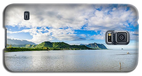 Kahaluu Fish Pond Panorama Galaxy S5 Case