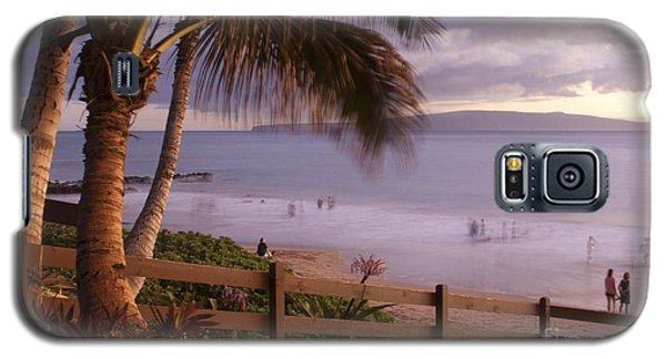 Kai Makani Hoohinuhinu O Kamaole - Kihei Maui Hawaii Galaxy S5 Case