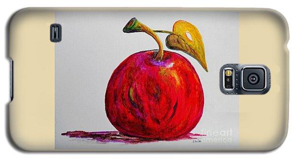 Kaleidoscope Apple -- Or -- Apple For The Teacher  Galaxy S5 Case