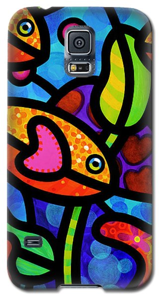 Kaleidoscope Reef Galaxy S5 Case