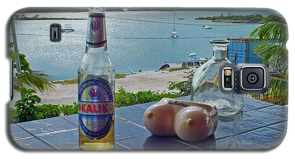 Kalik Beer Bottle At The Front Porch Galaxy S5 Case