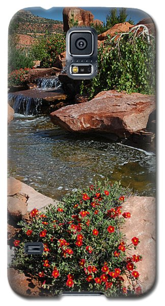 217p Kanab Ut Water Feature Galaxy S5 Case