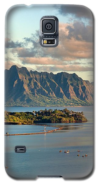 Kaneohe Bay Panorama Mural 2 Of 5 Galaxy S5 Case