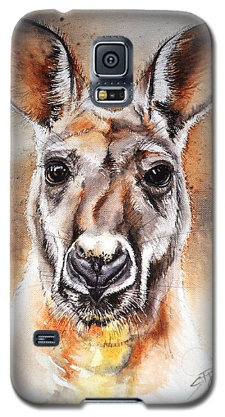 Kangaroo Big Red Galaxy S5 Case
