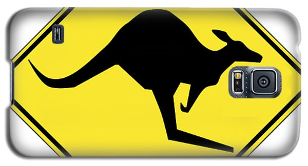 Kangaroo Crossing Sign Galaxy S5 Case