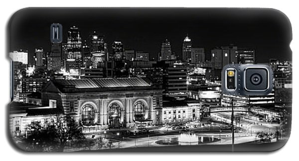 Kansas City In Black And White Galaxy S5 Case