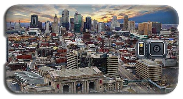 Kansas City Skyline Galaxy S5 Case