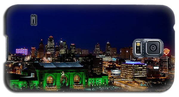 Kansas City Skyline Galaxy S5 Case
