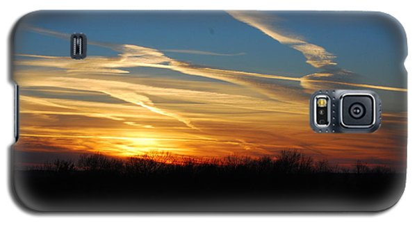 Kansas November Sunset Galaxy S5 Case