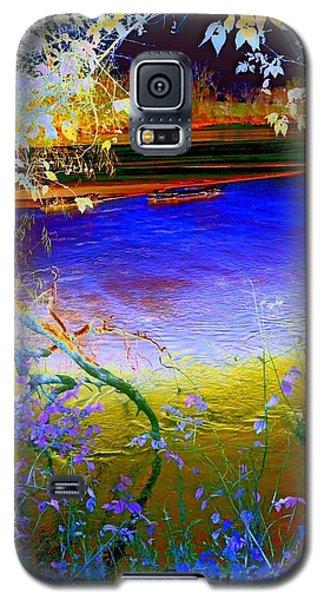 Kansas River 2 Galaxy S5 Case by Karen Newell