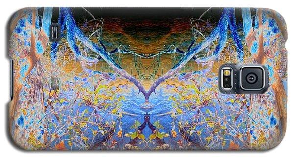 Kansas River Fantasy Galaxy S5 Case by Karen Newell
