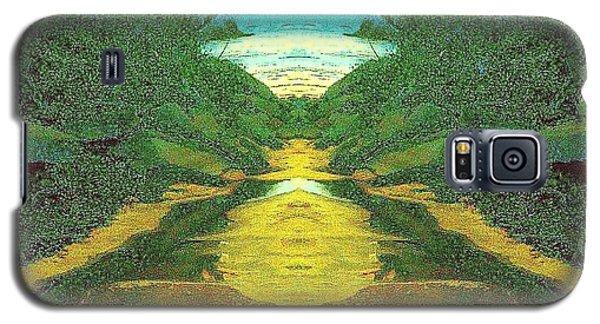 Kansas River Galaxy S5 Case by Karen Newell