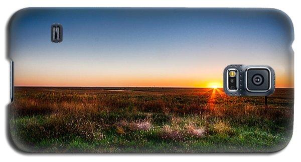Kansas Sunrise Galaxy S5 Case by Jay Stockhaus