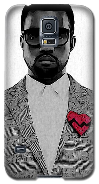 Kanye West  Galaxy S5 Case by Dan Sproul