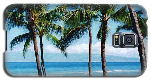 Kapalua Beach Galaxy S5 Case