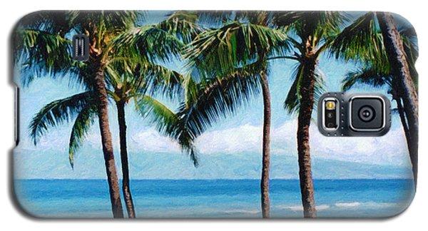Kapalua Beach Galaxy S5 Case