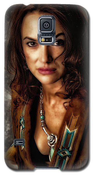 Galaxy S5 Case featuring the photograph Karina - Indian Jacket ... by Chuck Caramella