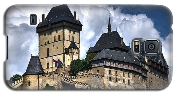 Galaxy S5 Case featuring the photograph Karlstejn Castle In Prague 2 by Joe  Ng
