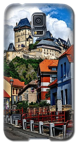 Galaxy S5 Case featuring the photograph Karlstejn Castle In Prague  by Joe  Ng
