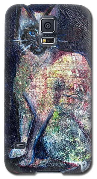 Karma Cat Galaxy S5 Case