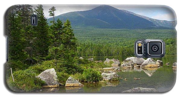 Katahdin Framed At Sandy Stream Pond Galaxy S5 Case
