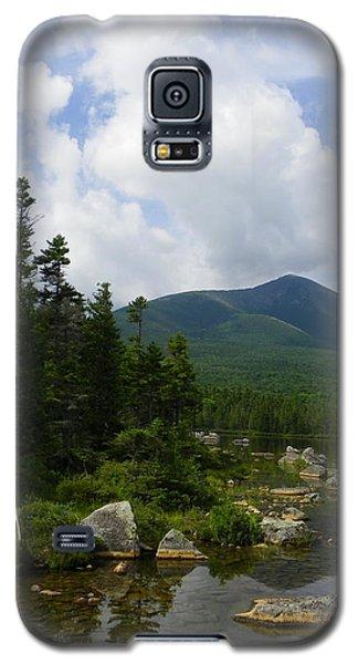 Katahdin From Sandy Stream Pond Galaxy S5 Case