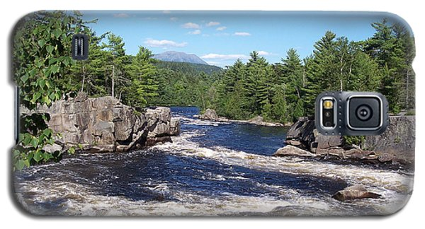 Katahdin From The Crib On The West Branch Galaxy S5 Case