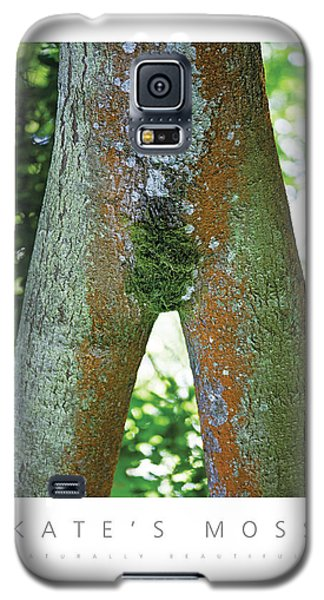 Kate's Moss Naturally Beautiful Poster Galaxy S5 Case